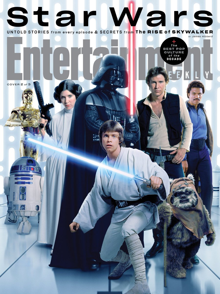 Episode IX: The Rise of Skywalker Press Tour & Interviews - Page 12 Ew210