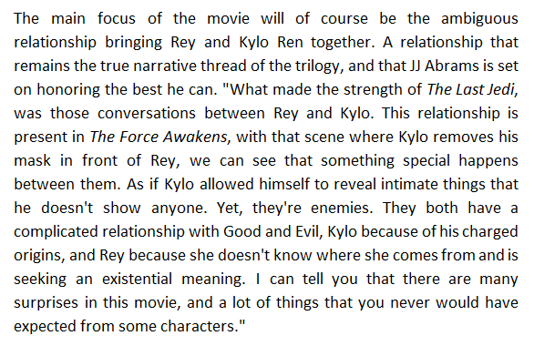 Episode IX: The Rise of Skywalker Press Tour & Interviews - Page 13 Star_w10