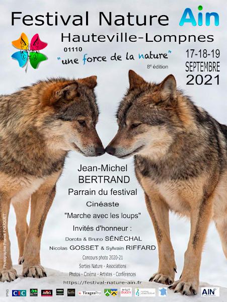 Festival Nature Ain 2021 à Hauteville-Lompnes - 17, 18 et 19 septembre Affich14