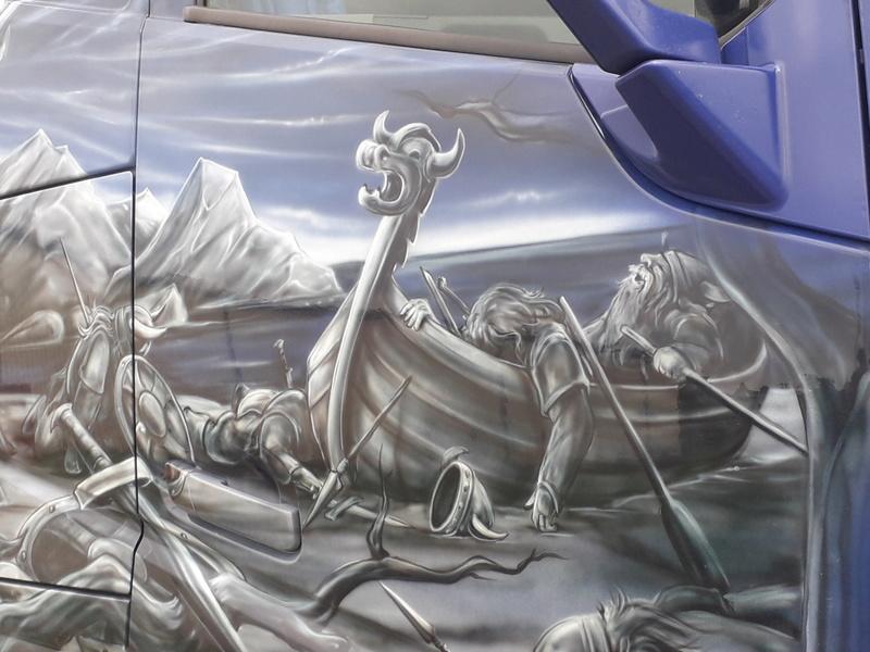 Ein Volvo im Wikingerkleid !!! 20180610
