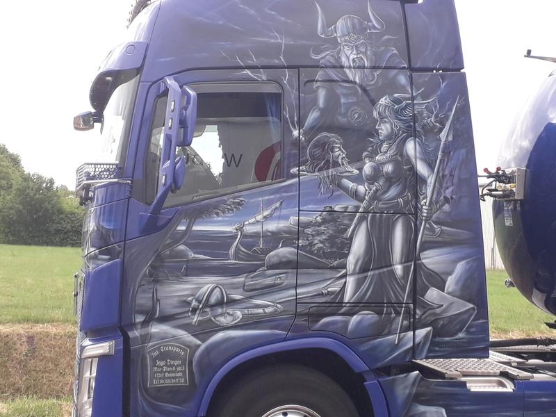 Ein Volvo im Wikingerkleid !!! 20180612