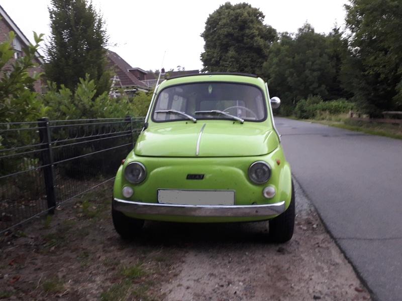 Ein alter FIAT 500 Kombi 20180622
