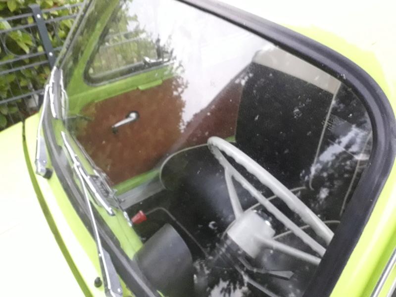 Ein alter FIAT 500 Kombi 20180623