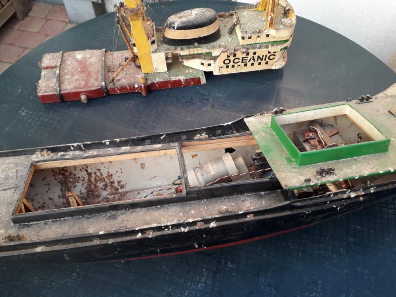 "Restaurierungsbericht ""Oceanic"" 1:50 20180736"