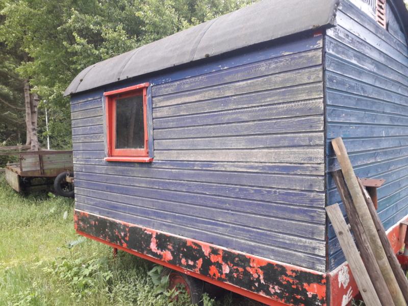 Restaurierung eines Bauwagens 1:1 20190165