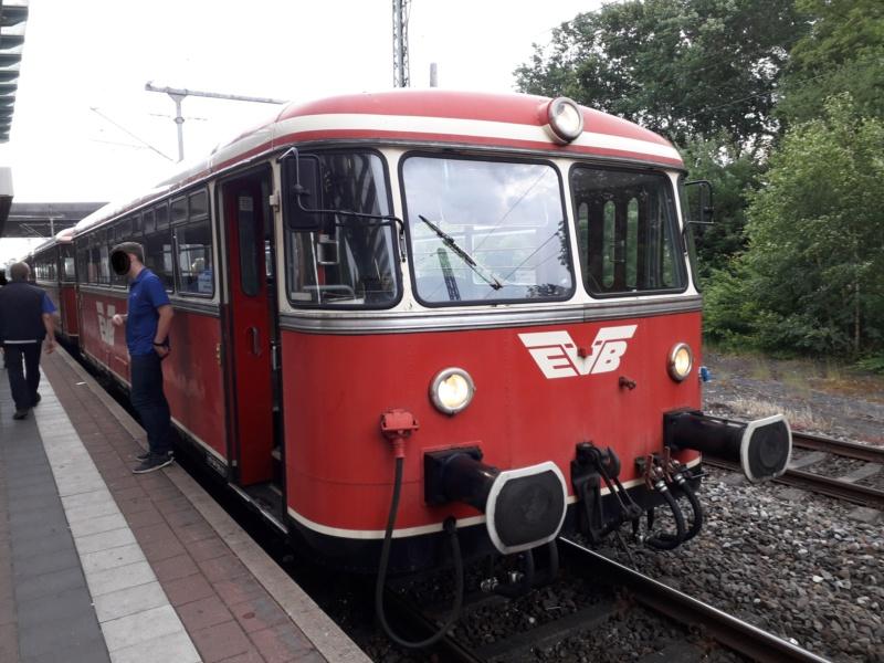 Alte EVB-Bahn in Stade. 20190620