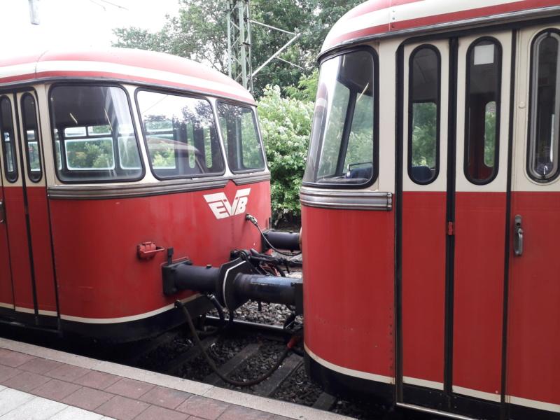 Alte EVB-Bahn in Stade. 20190621
