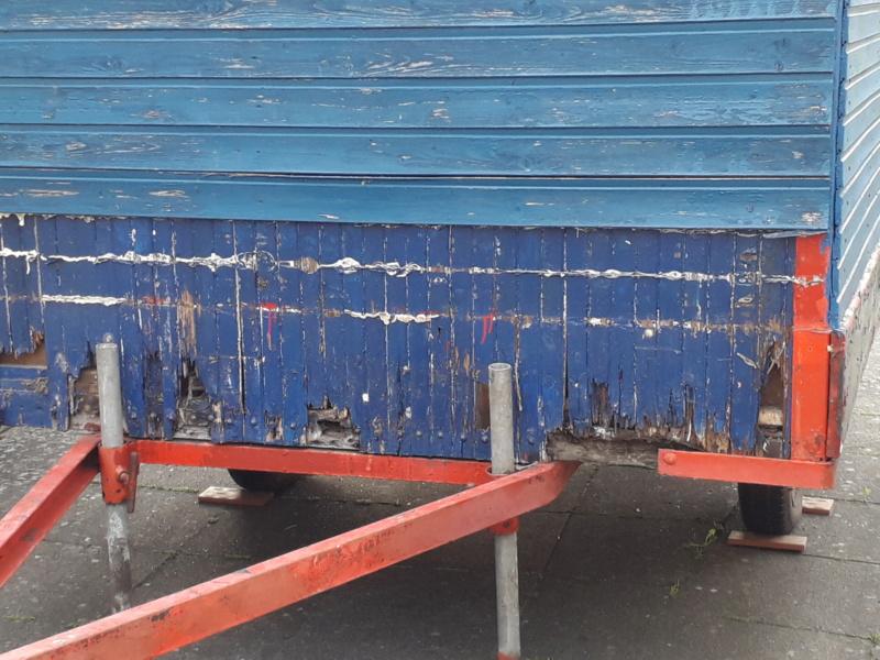 Restaurierung eines Bauwagens 1:1 20190641
