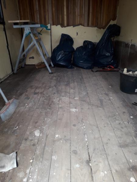 Restaurierung eines Bauwagens 1:1 20190649