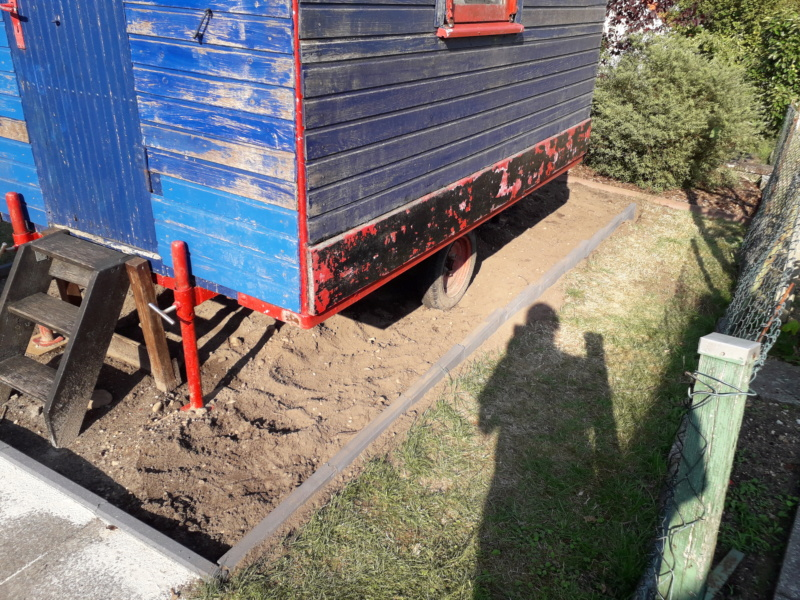 Restaurierung eines Bauwagens 1:1 20190733