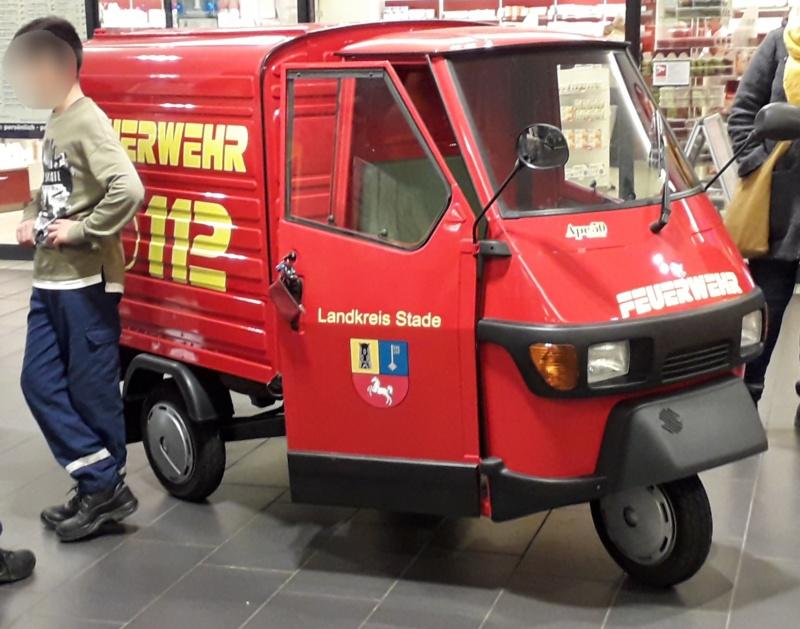 Haben in Stade ein neues Feuerwehrauto. 20191030