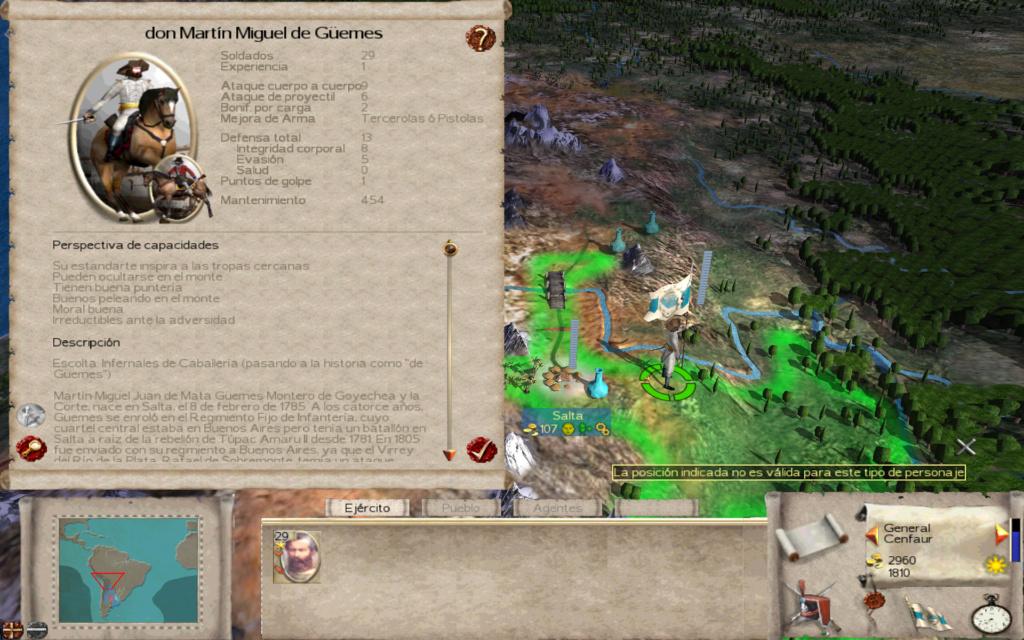 Sudamerica Total War Hero_310