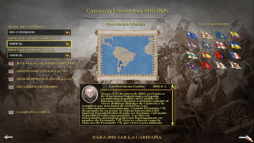 Sudamerica Total War Menu_i10