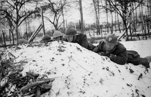 Garde à KILSTETT, janvier 1945 Garde_11