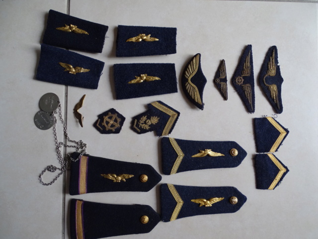 Tissus et insignes Armée de l'Air. ESC - MAR 5  A CLOTURER MERCI Lot_aa29