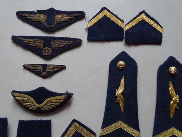 Tissus et insignes Armée de l'Air. ESC - MAR 5  A CLOTURER MERCI Lot_aa30