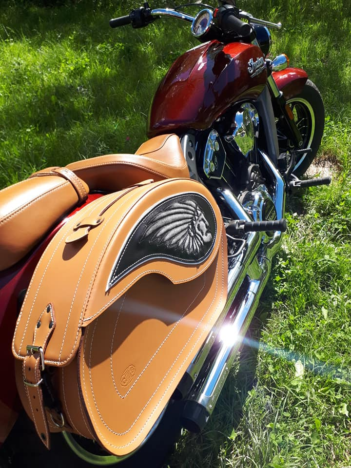 Les sacoches cuir pour SCOUT 60480210