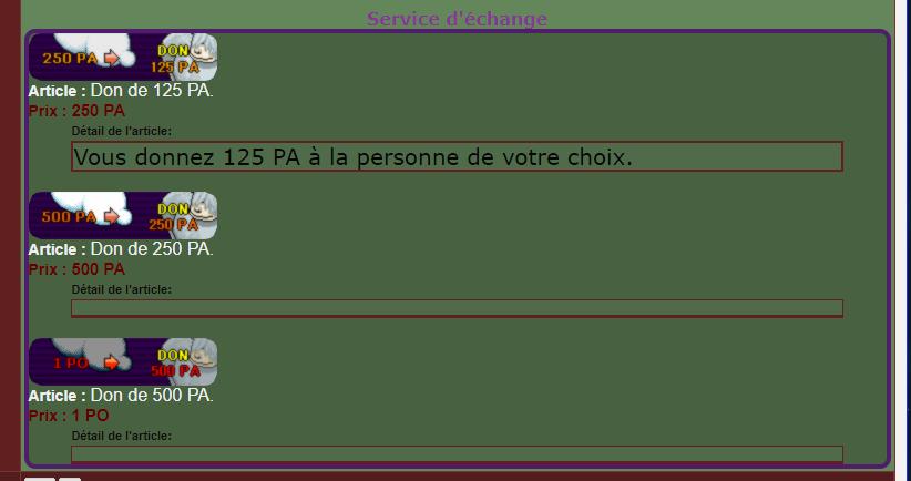 Important: Appel aux dons Screen11