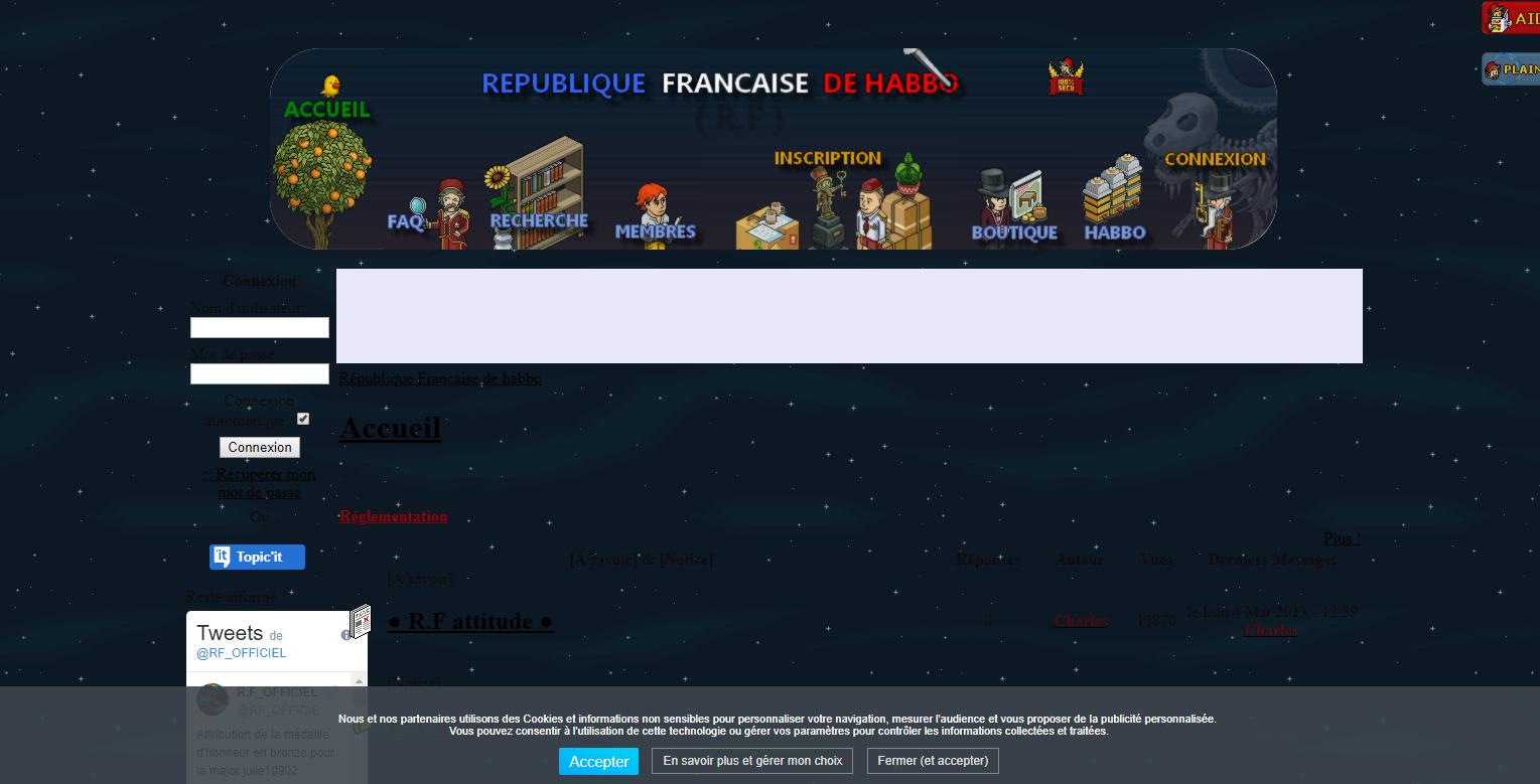 La future version du forum en préparation (screenshots) V210