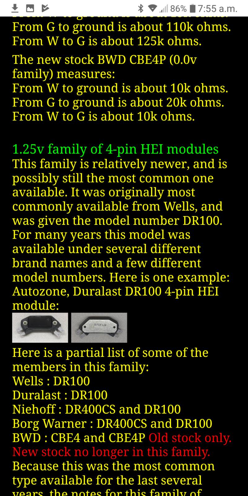 module HEI GM Screen22
