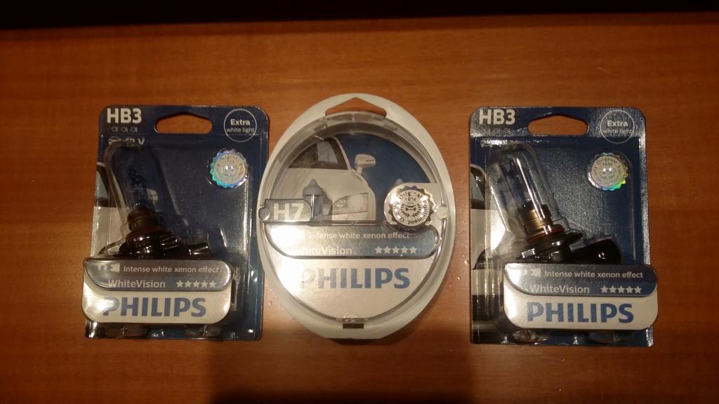 Philips h7 white vision 20180811