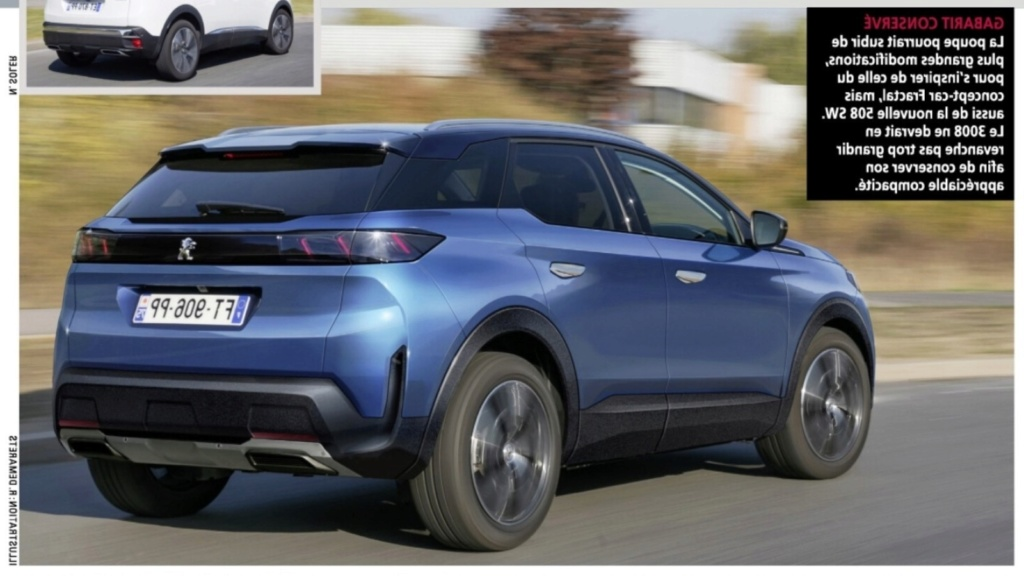 Así es el nuevo Peugeot 3008: las dos fotos bomba 311