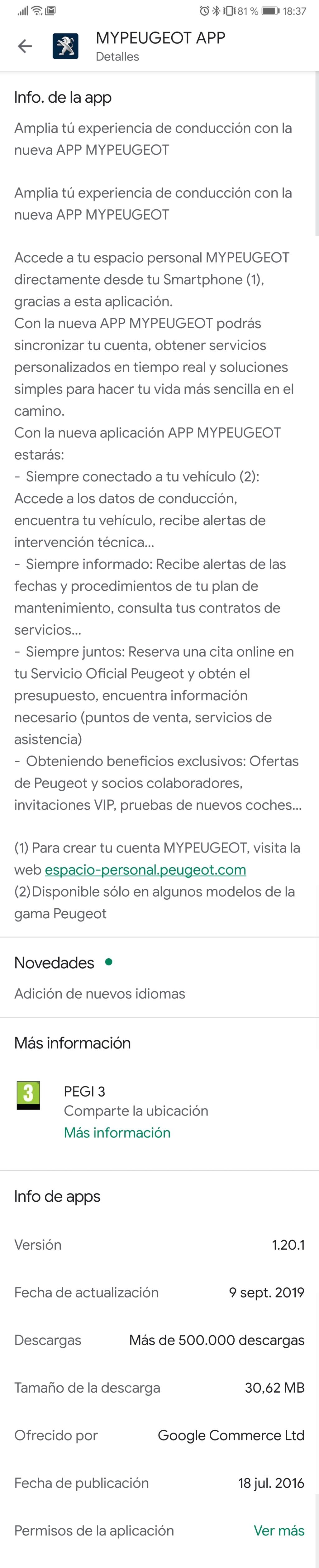 Problema My Peugeot - Página 17 Screen32