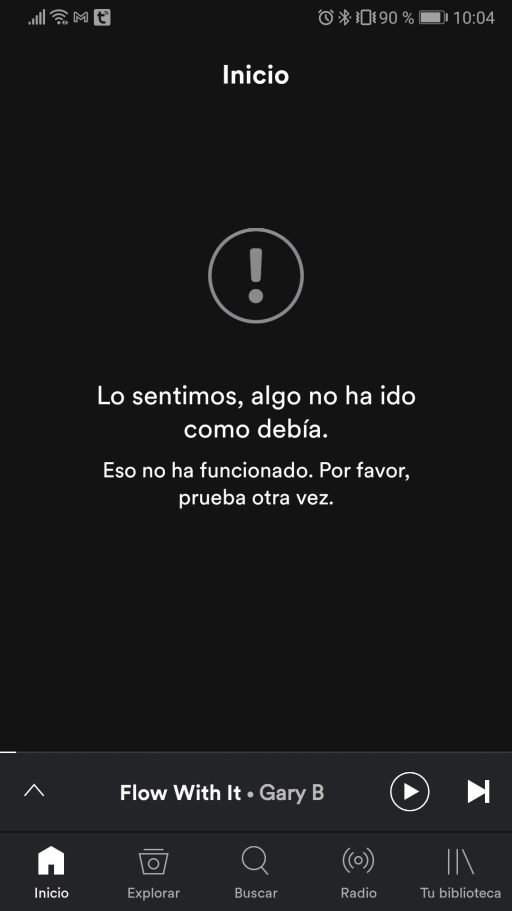 Spotify - Mensaje de error Whatsa14