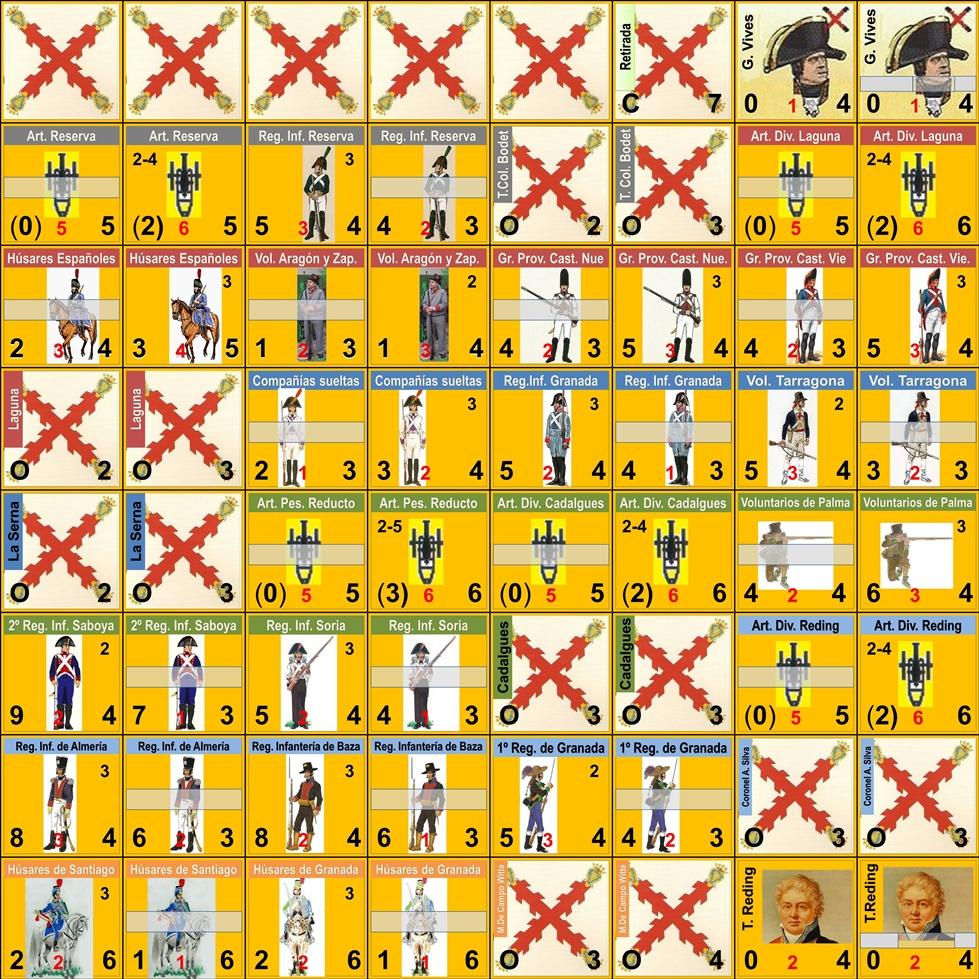 Molins de Rei Battle 21 dec 1808 - Scenary Conjun11