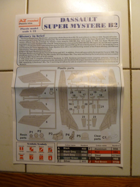 Comparatif DASSAULT SUPER MYSTERE B2 AIRFIX & AZUR FRROM au 72ème  - Page 2 P1190923