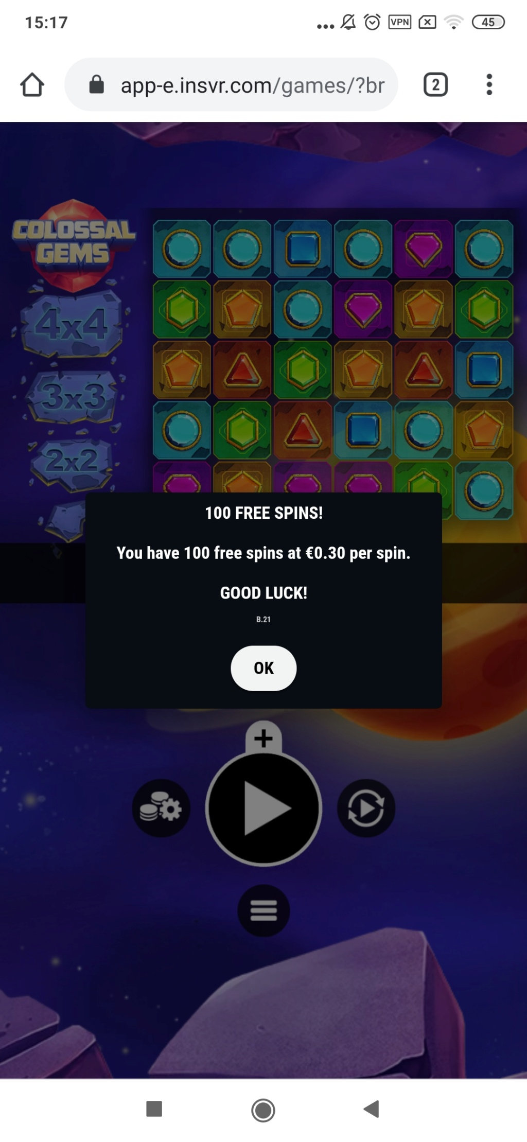 Evobet Casino 20 EUR za darmo bez depozytu - Page 4 Screen16