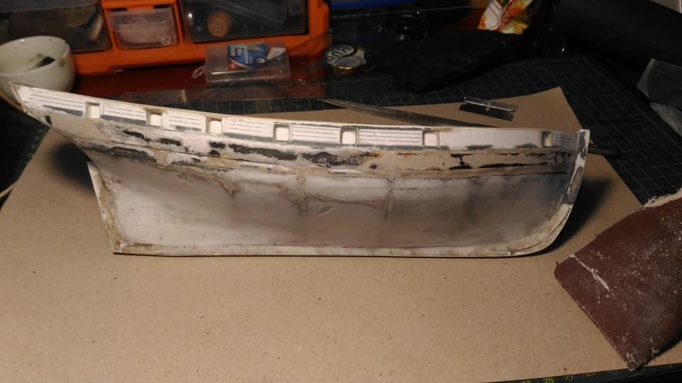 HMS Speedy (1/100) - Scratchbuild de papier 2110