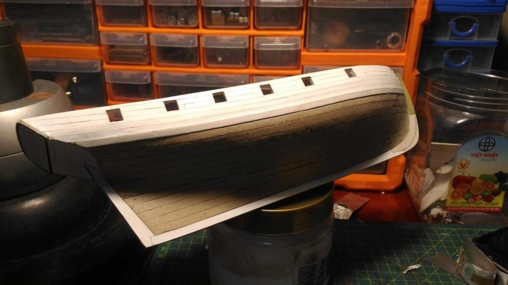 HMS Speedy (1/100) - Scratchbuild de papier 48362710