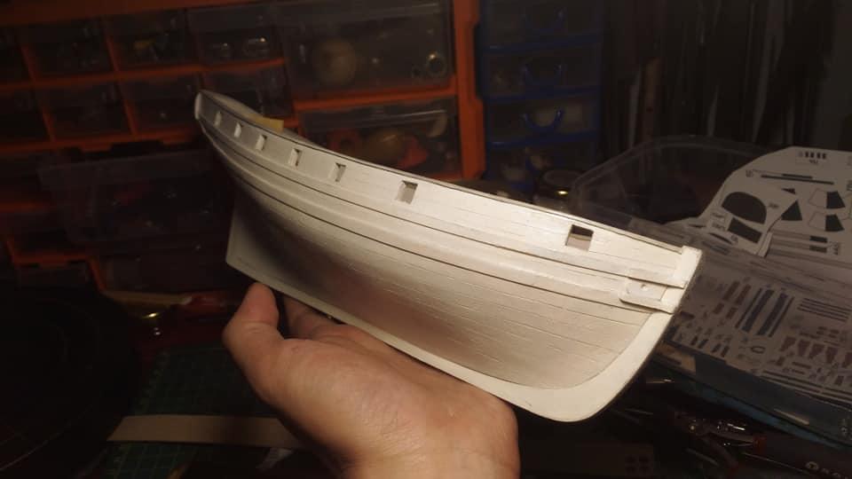 HMS Speedy (1/100) - Scratchbuild de papier 48413310