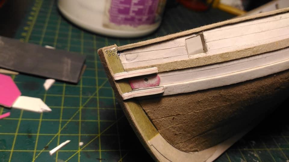 HMS Speedy (1/100) - Scratchbuild de papier 48424710