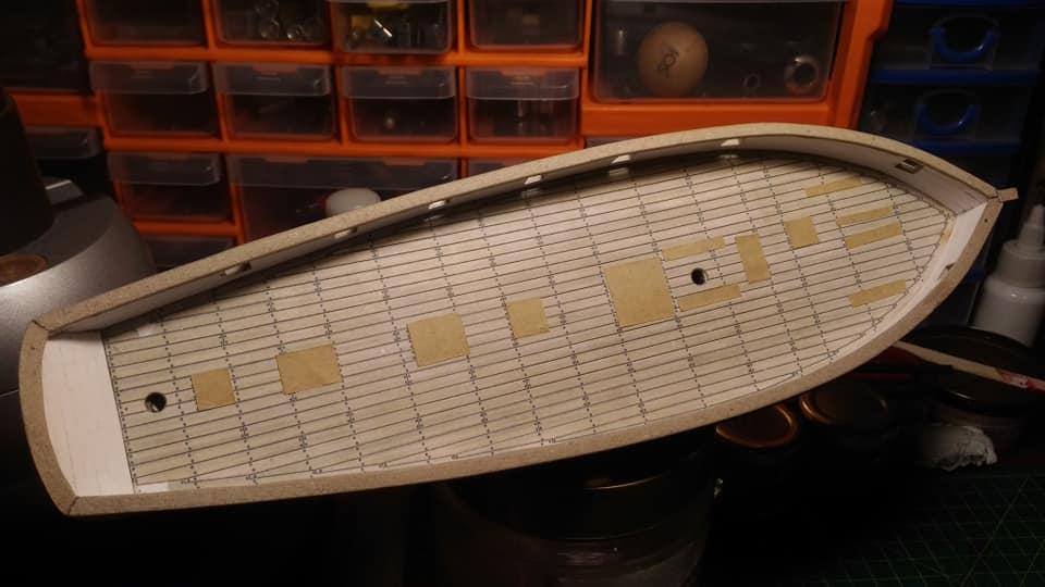 HMS Speedy (1/100) - Scratchbuild de papier 48429210