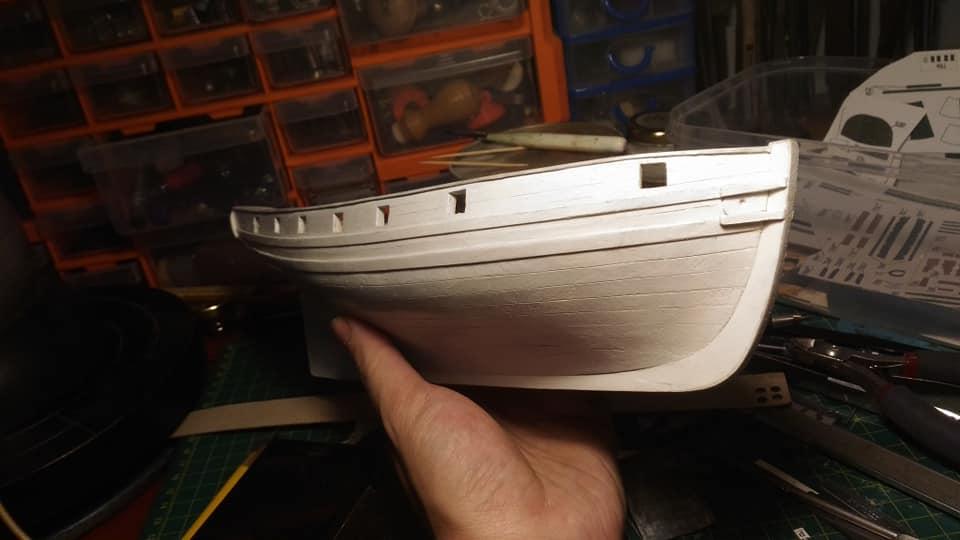 HMS Speedy (1/100) - Scratchbuild de papier 48995910