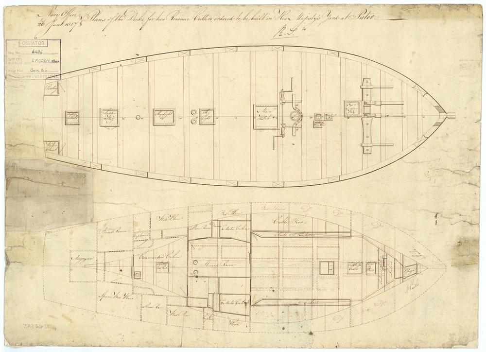 HMS Speedy (1/100) - Scratchbuild de papier J0624_10