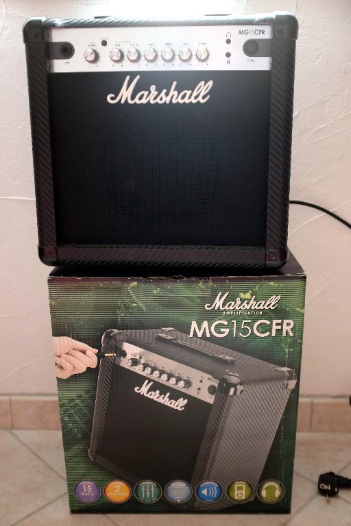 Vends ampli Marschall MG15 CFR servi une fois Dscf6610