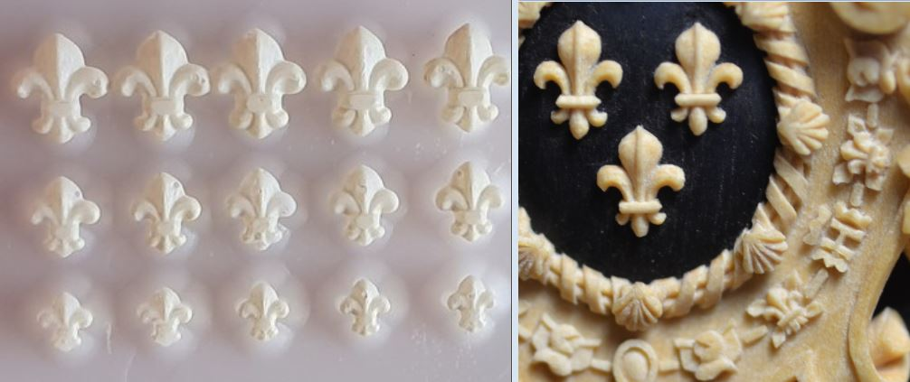 Modèle de La Belle, en 3D par B. Huc - Page 2 Fleur_10