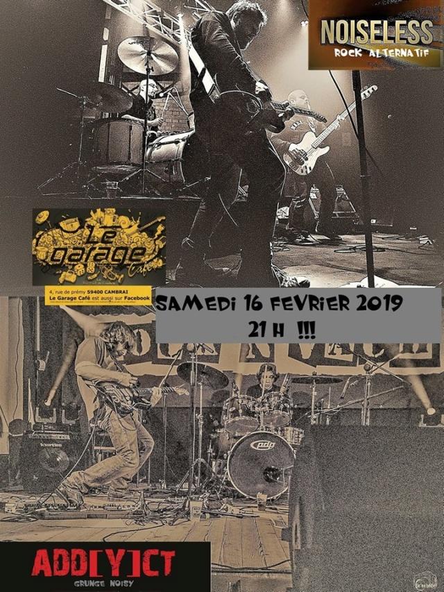 NOISELESS - Rock alternatif/ Grunge (Lille) Concer11