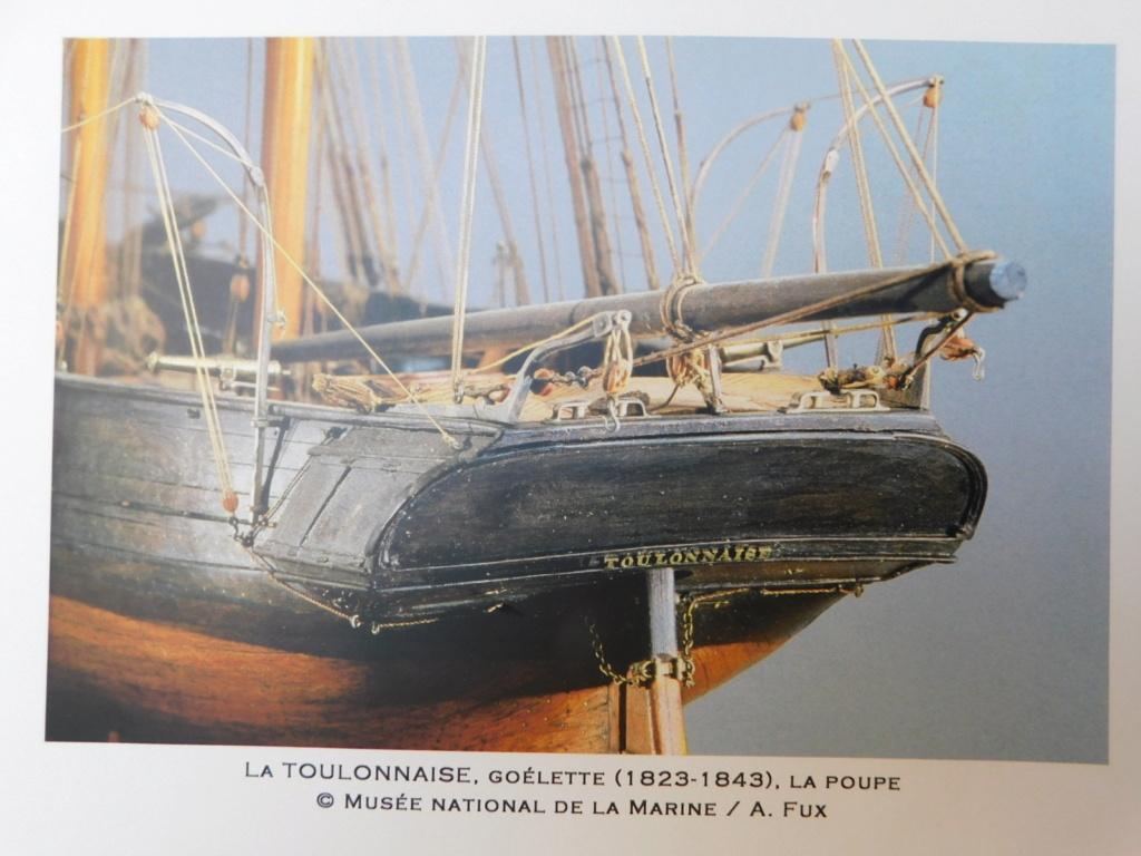 Goélette Toulonnaise 1823 (Artesania Latina 1/70°) de Jean-Claude 59 - Page 10 Dscn0149