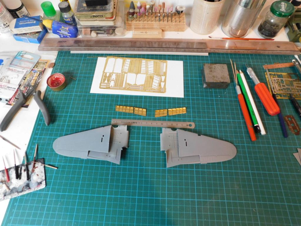 Le Il-2 Chturmovik Tamiya au 1/48ème à ma façon. Dscn0713