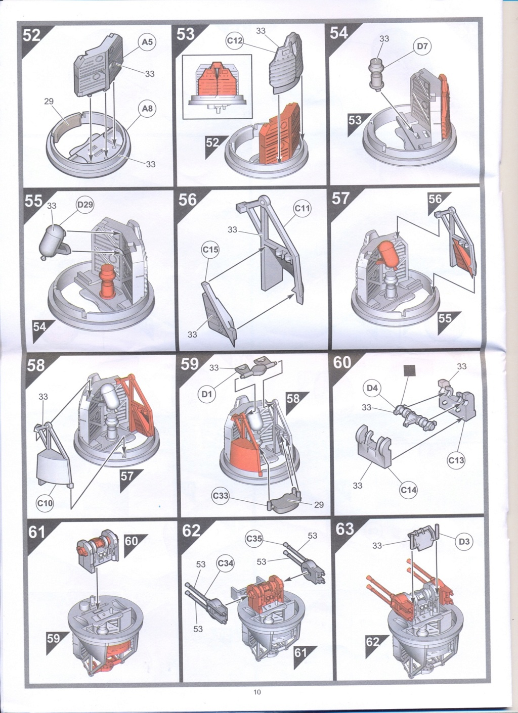 Boulton Paul Defiant MK1 1/48 AIRFIX Notice16
