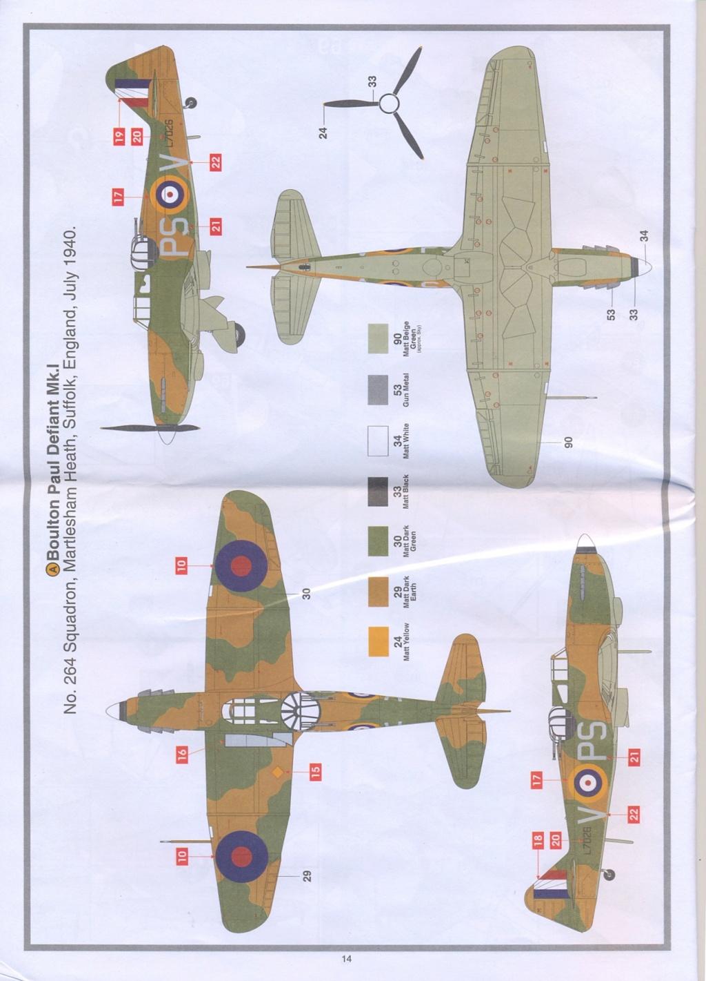 Boulton Paul Defiant MK1 1/48 AIRFIX Notice21