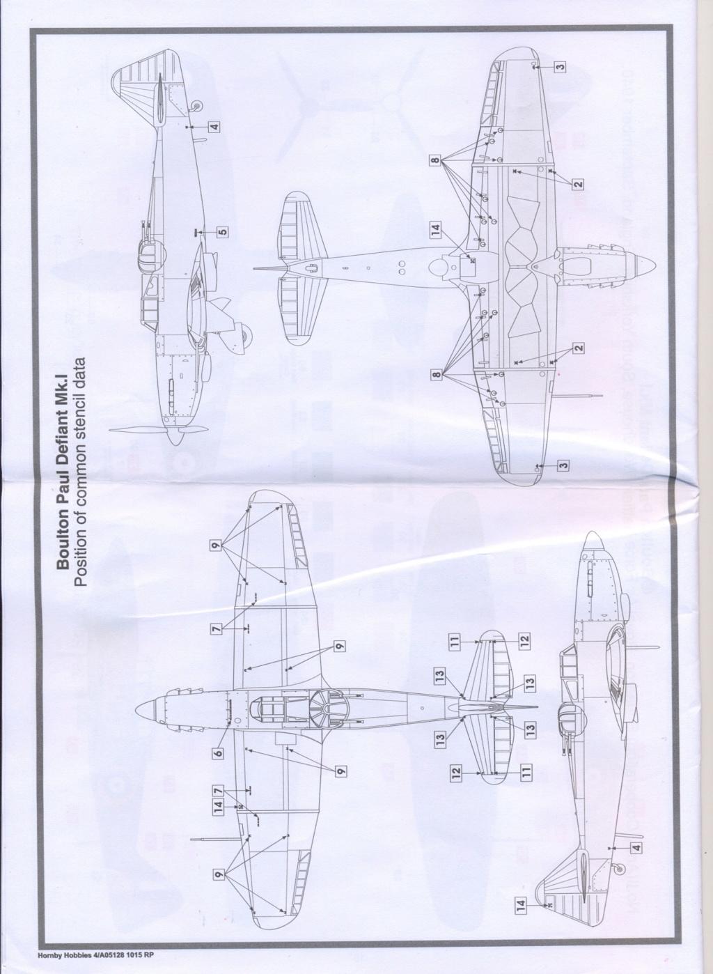 Boulton Paul Defiant MK1 1/48 AIRFIX Notice23