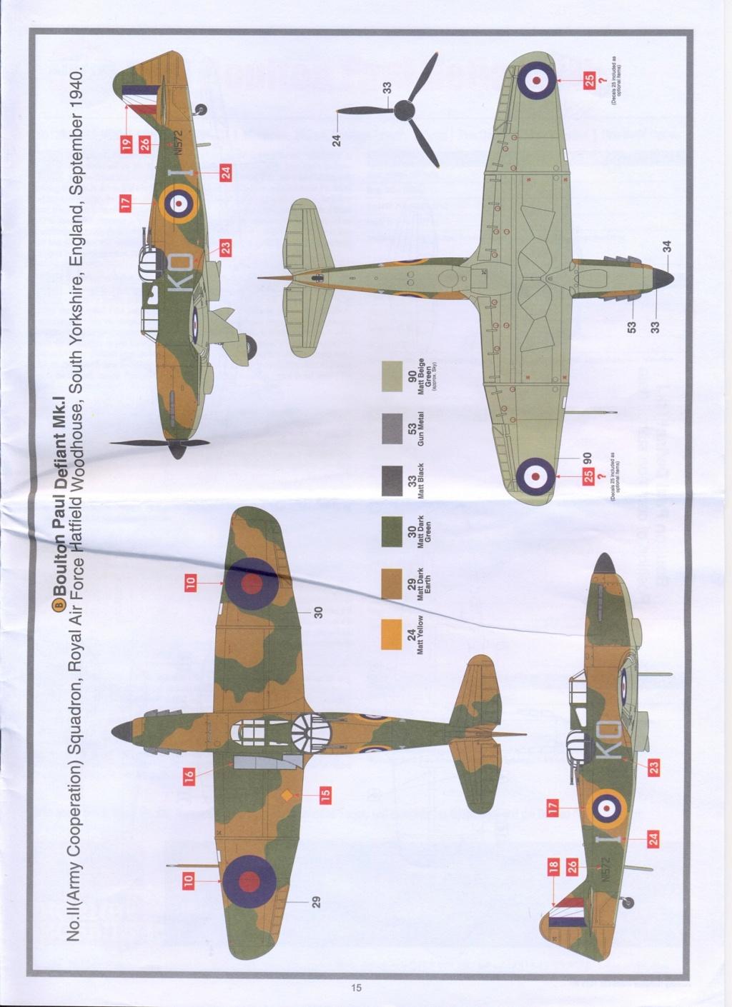 Boulton Paul Defiant MK1 1/48 AIRFIX Notice24