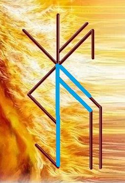 """Став защита """" КЗЧ - Конь Золотая Чёлка """" Автор Tanis -31010"""