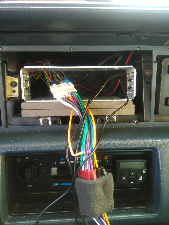 "8,8 "" Android Radio in 1991 Custom Cruiser Img_2016"