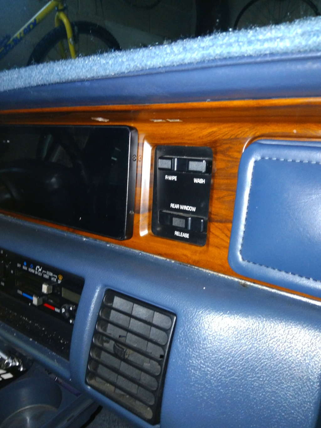 "8,8 "" Android Radio in 1991 Custom Cruiser Img_2020"